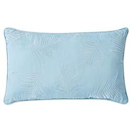 Tropical Yarn Dye Oblong Throw Pillow in Pastel