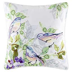 KAS Australia Claudia Birds Square Throw Pillow