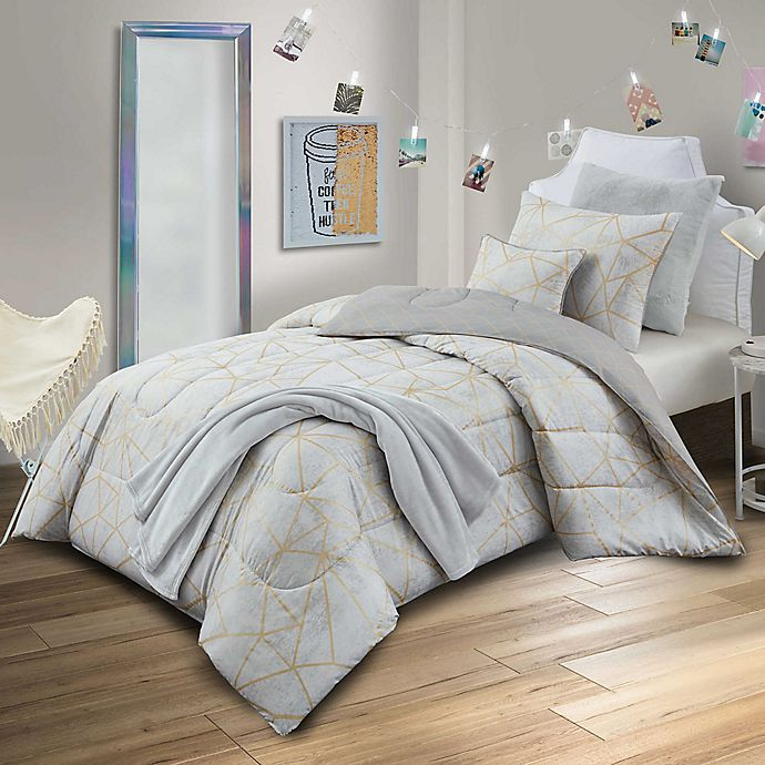 Alternate image 1 for Haydee Reversible Comforter Set