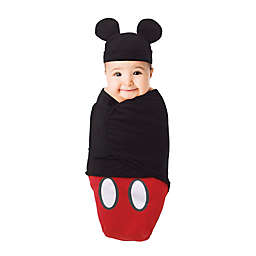 Disney® Small Mickey Mouse Wearable Blanket in Red