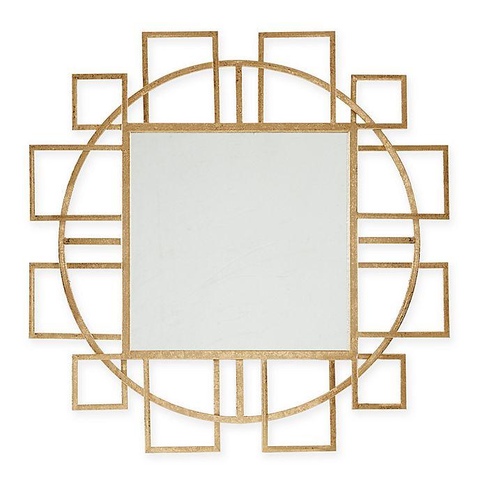 Alternate image 1 for Madison Park Kenzie Round Mirror in Gold