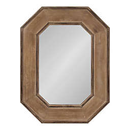 Kate and Laurel Hadrian 41-Inch x 31-Inch Mirror in Brown