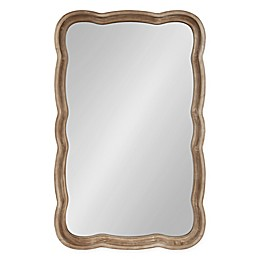 Kate and Laurel Hatherleigh Wall Mirror in Brown