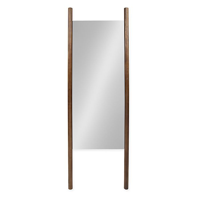 Alternate image 1 for Kate and Laurel 21-Inch x 67-Inch Findlay Wood Wall Leaner Mirror