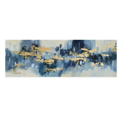 Parvez Taj Gold Water Reflection Canvas Wall Art by Bed Bath And Beyond
