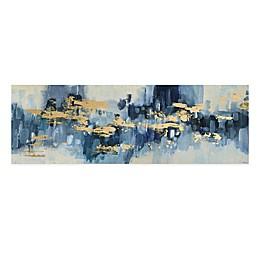 Parvez Taj Gold Water Reflection Canvas Wall Art