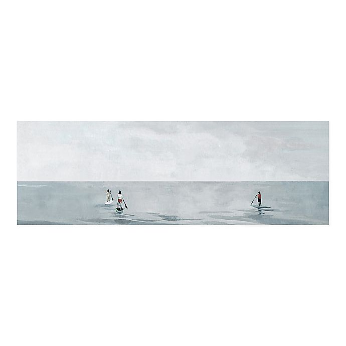 Alternate image 1 for Parvez Taj Infinite Paddle Boarding 45-Inch x 15-Inch Canvas Wall Art