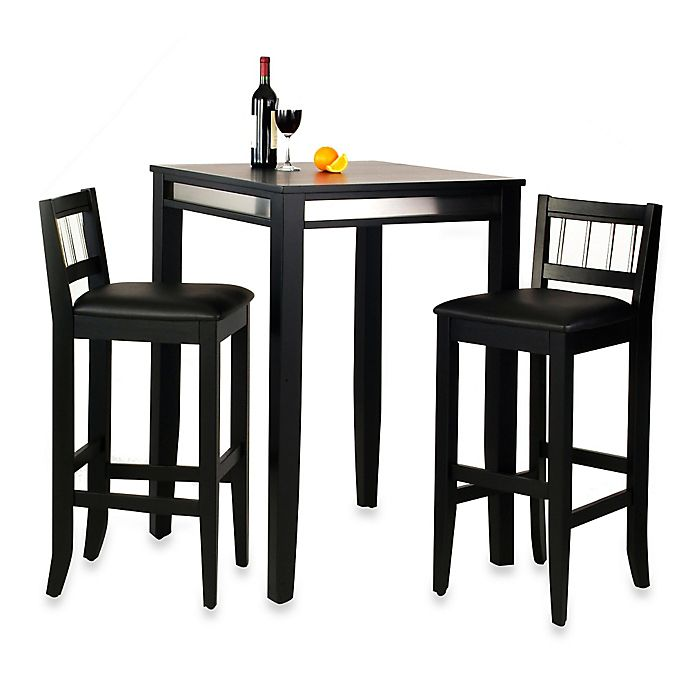 Alternate image 1 for Home Styles 3-Piece Manhattan Pub Table