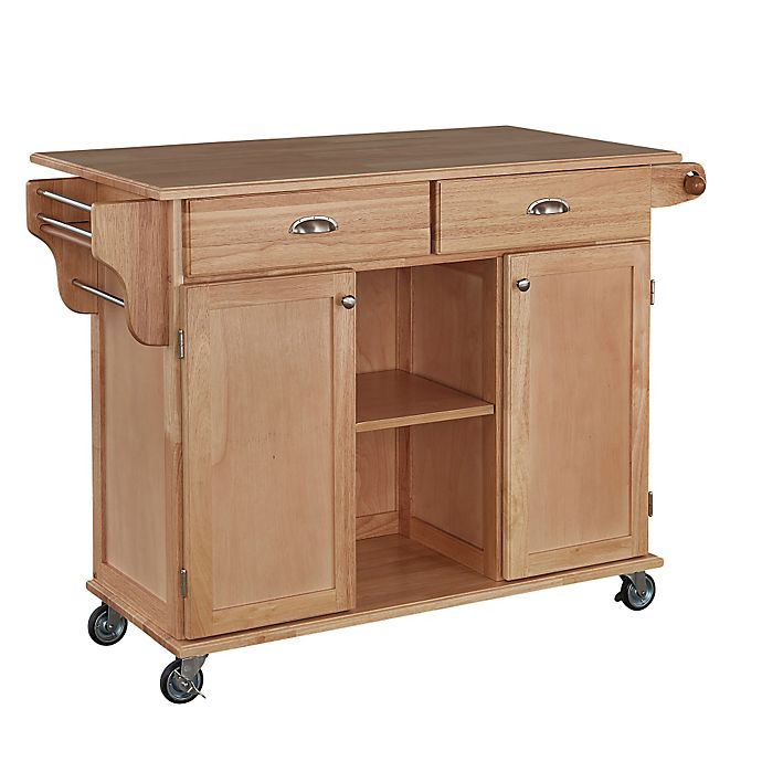 Alternate image 1 for Home Styles Napa Rolling Kitchen Cart