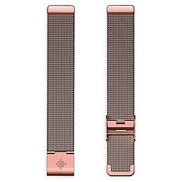 Fitbit® Inspire Stainless Steel Mesh Accessory Band in Rose Gold