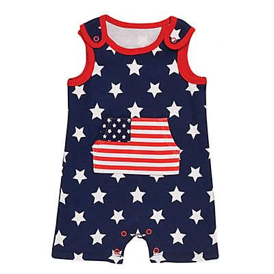 Baby Starters® Americana Romper in Navy