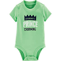 carter's® Grandma's Prince Charming Bodysuit in Lime