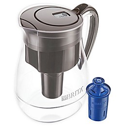 Brita® 10-Cup Monterey Pitcher with LongLast Filter in Coffee/Black