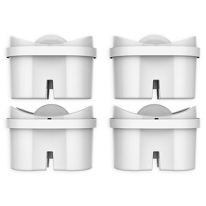Alternate image 1 for Bluefall™ Mavea/Brita Maxtra Compatible 4-Pack Water Pitcher Replacement Filters
