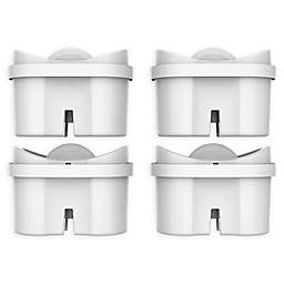 Bluefall™ Mavea/Brita Maxtra Compatible 4-Pack Water Pitcher Replacement Filters