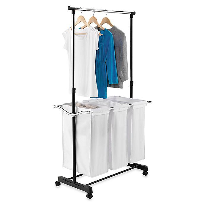 Alternate image 1 for Honey-Can-Do® Adjustable Laundry Center