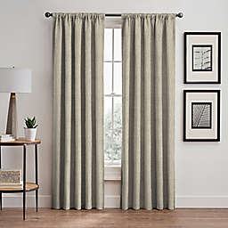 Signora 84-Inch Rod Pocket/Back Tab Room-Darkening Window Curtain Panel in Celadon