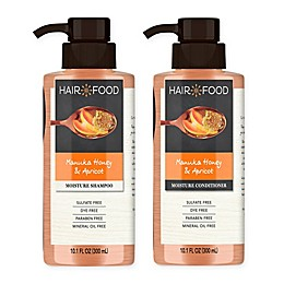 Hair Food Manuka Honey and Apricot Sulfate-Free Moisturizing Hair Care Collection