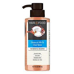 Hair Food 10.1 fl. oz. Coconut and Chai Spice Sulfate Free Shampoo