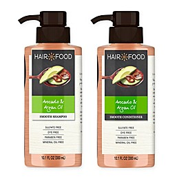 Hair Food 10.1 fl. oz. Avocado and Argan Oil Sulfate Free Shampoo and Conditioner