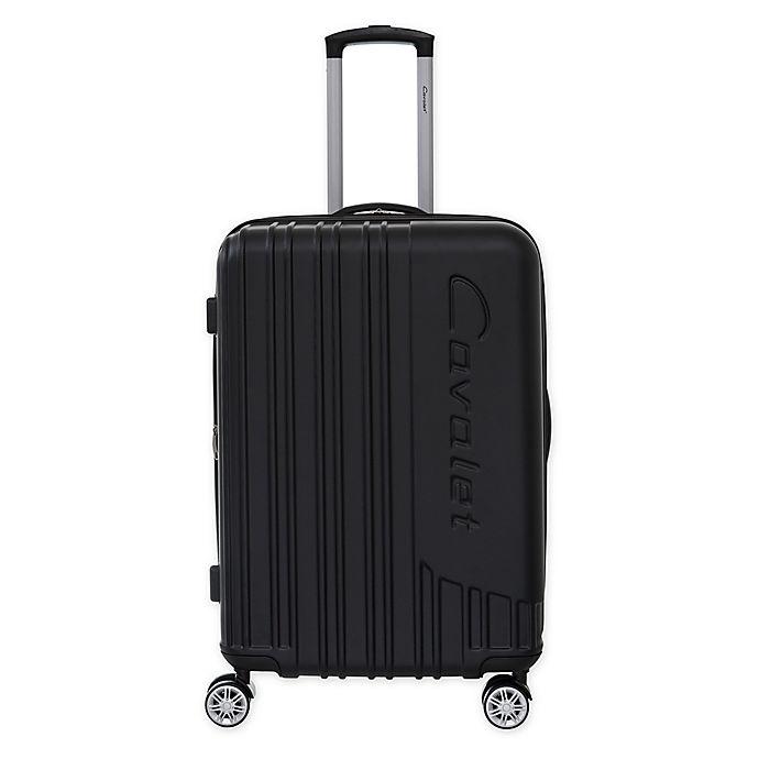 Alternate image 1 for Cavalet Malibu 20-Inch Hardside Spinner Carry On Luggage in Black