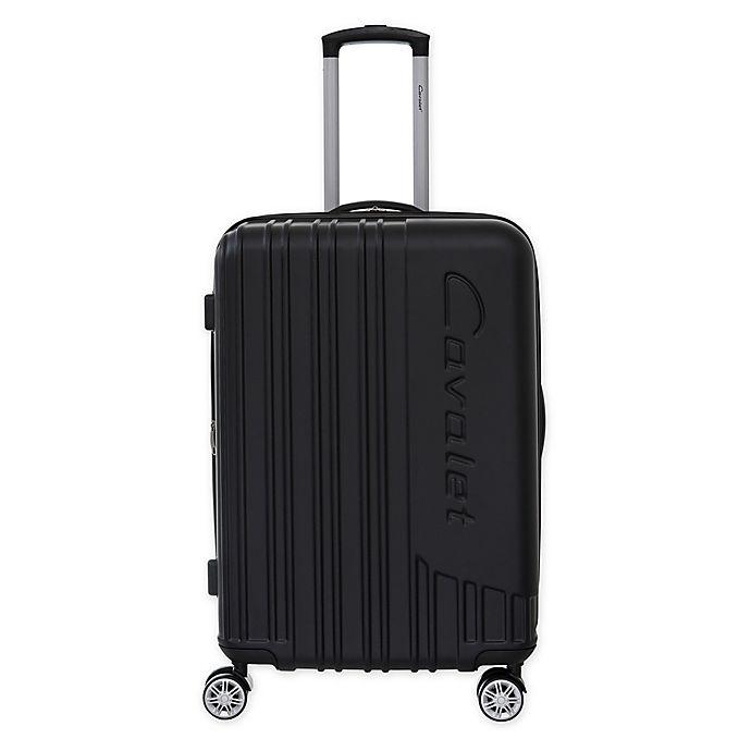 Alternate image 1 for Cavalet Malibu 24-Inch Hardside Spinner Checked Luggage in Black