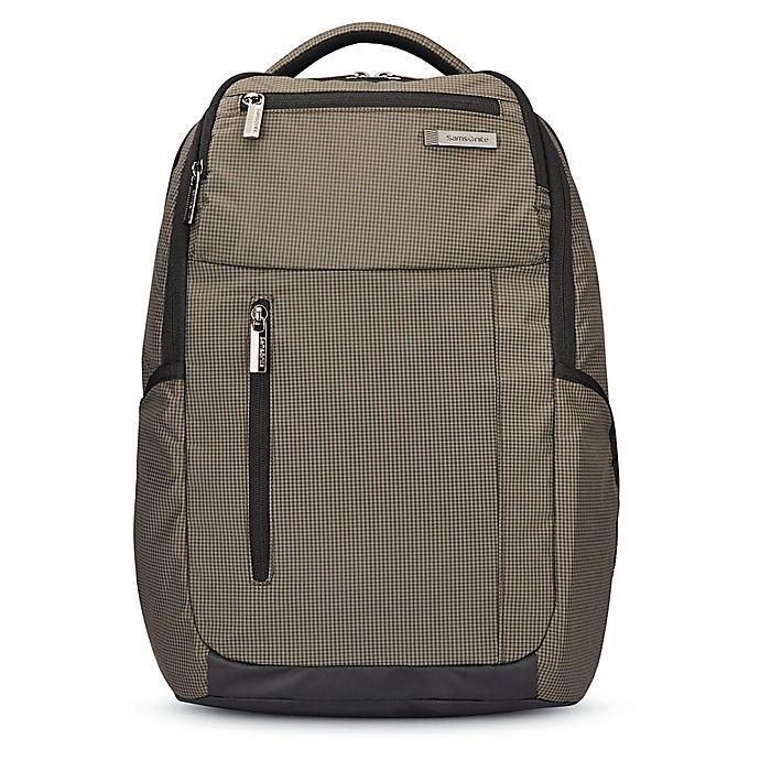 Alternate image 1 for Samsonite® Crossfire Backpack in Green/Black