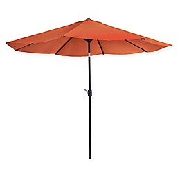Pure Garden 10-Foot Patio Market Umbrella with Auto Tilt and Crank