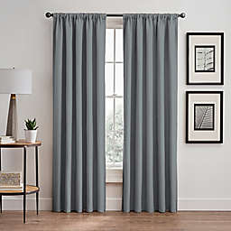 Stellar 63-Inch Rod Pocket/Back Tab Room-Darkening Window Curtain Panel in Blush