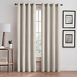 Signora 63-Inch Grommet Room-Darkening Window Curtain Panel in Ivory