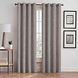 Signora 63-Inch Grommet Room-Darkening Window Curtain Panel in Stone