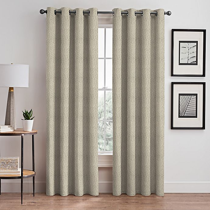 Alternate image 1 for Signora Grommet Room-Darkening Window Curtain Panel (Single)