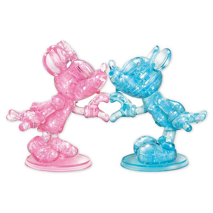 Alternate image 1 for BePuzzled Disney Minnie & Mickey 68-Pc 3D Crystal Puzz
