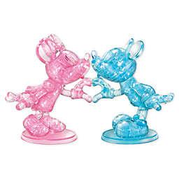 BePuzzled Disney Minnie & Mickey 68-Pc 3D Crystal Puzz