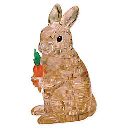 BePuzzled Rabbit 43-Piece 3D Crystal Puzzle