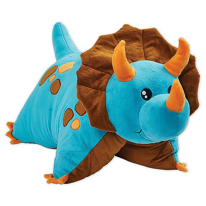 Alternate image 1 for Pillow Pets® Jumboz Dinosaur Pillow Pet in Blue