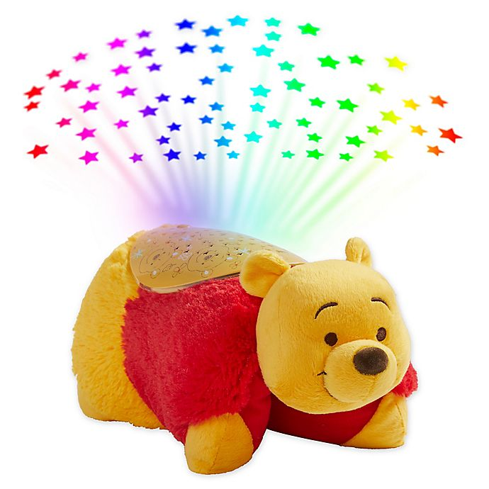Alternate image 1 for Pillow Pets® Disney® Winnie The Pooh Pillow Pet with Sleeptime Lite™