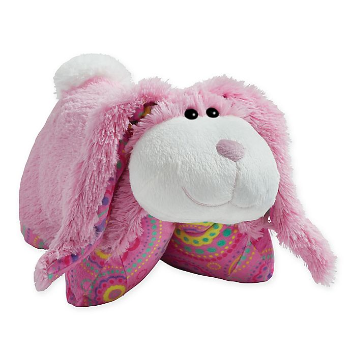 Alternate image 1 for Pillow Pets® Spring Bunny Pillow Pet in Pink