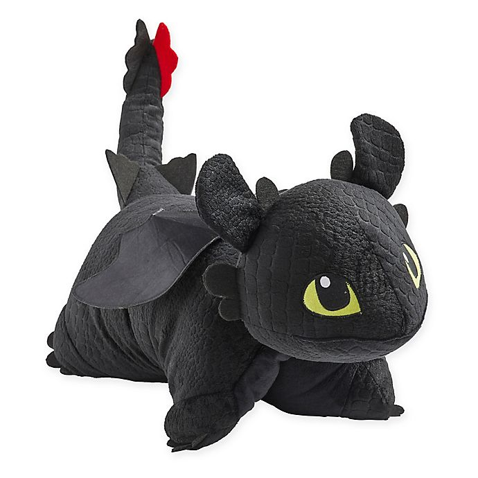 Alternate image 1 for Pillow Pets® How To Train Your Dragon Toothless Pillow Pet