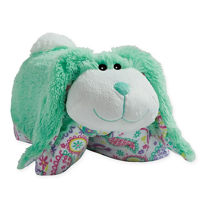 Alternate image 1 for Pillow Pets® Spring Bunny Pillow Pet in Mint
