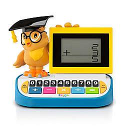 The Singing Machine Kids' Wise Ol' Owl Blackboard Calculator in White/Blue