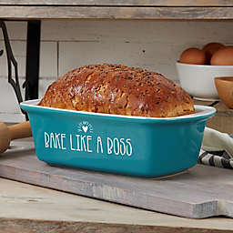 Made With Love 1.5 qt. Stoneware Loaf Pan