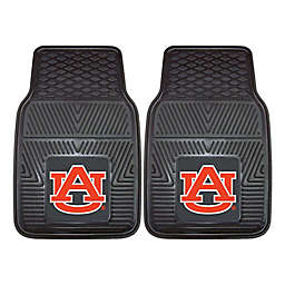Auburn University Heavy Duty 2-Piece Vinyl Car Mat Set