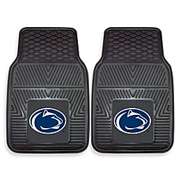 Penn State Heavy Duty 2-Piece Vinyl Car Mat Set