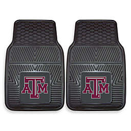 Texas A&M University Heavy Duty 2-Piece Vinyl Car Mat Set