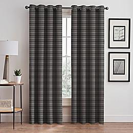 Emerson Stripe Grommet Window Curtain Panel