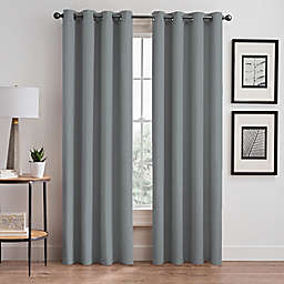 Stellar 108-Inch Grommet Room-Darkening Window Curtain Panel in Ocean