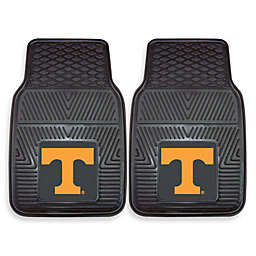 University of Tennessee Heavy Duty 2-Piece Vinyl Car Mat Set