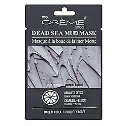 The Crème® Shop Charcoal Lemon Dead Sea Mud Mask
