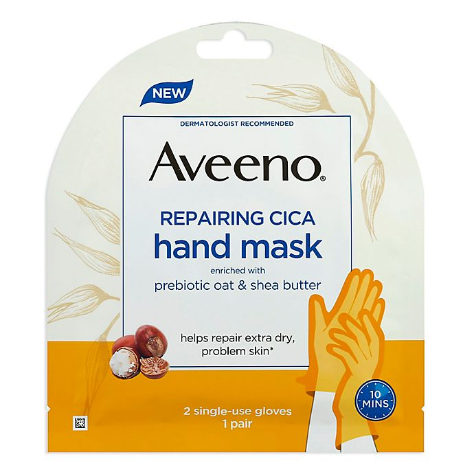 Alternate image 1 for Aveeno® Repairing Cica Hand Mask